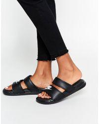 Nike - Benassi Duo Flat Sandals - Lyst