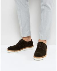 SELECTED - Rud Derby Shoes In Brown - Lyst