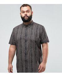 ASOS - Plus Regular Fit Vintage Print Shirt - Lyst