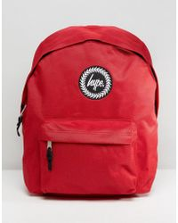Hype - Badge Red Backpack - Lyst