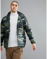 Quiksilver - Quicksilver Quilted Everyday Scaly Jacket In Camo - Lyst