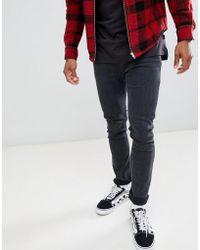 3783783c Lee Jeans Luke Slim Tappered Jeans In Blueness Turn in Blue for Men - Lyst