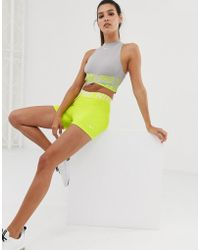 Nike Nike Pro Training 3 Inch Shorts In Lime