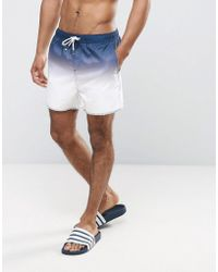 Another Influence | Dip Dye Swim Shorts | Lyst