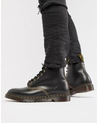 Dr. Martens - Wincox 6-eye Boots In Black - Lyst
