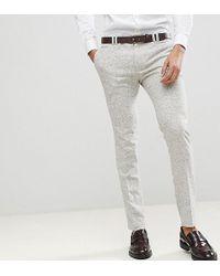 Noak - Super Skinny Suit Trousers In Fleck - Lyst