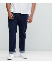 Levi's - Levi's Plus 501 Straight Jeans One Wash - Lyst