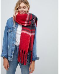 Hollister - Plaid Scarf - Lyst