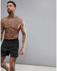 Speedo - Lane Printed Watershort Swim Shorts 16 Inch - Lyst