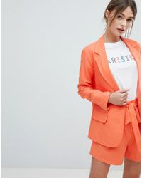 Oasis - Tailored Jacket - Lyst