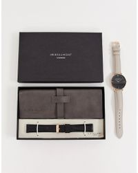 Elie Beaumont - Leather Watch Gift Set - Lyst