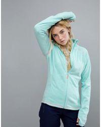 Roxy - Harmony Full Zip Fleece In Blue - Lyst