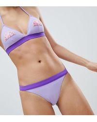 Monki - Tanga Contrast Bikini Bottoms - Lyst