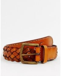 Hollister - Braided Leather Belt - Lyst