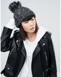 Eugenia Kim - Genie By Riley Navy Hat With Pom Pom - Lyst