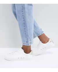ASOS - Delina Lace Up Trainers - Lyst