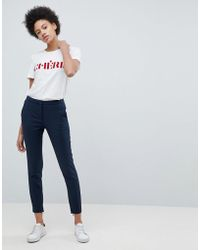 SELECTED - Femme Cropped Tailored Pant - Lyst