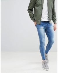 Good For Nothing - Super Skinny Jeans In Blue - Lyst