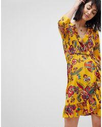 Vero Moda - Floral Wrap Dresses - Lyst