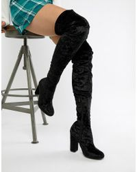 68b0b3f34a8 Lyst - Women s Truffle Collection Over-the-knee boots Online Sale