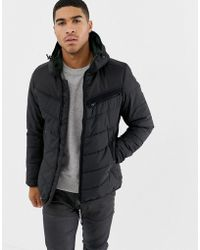466405de2 G-Star RAW Wool Bomber Jacket Winchester Wool in Black for Men - Lyst