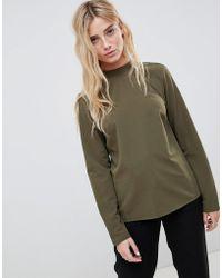 Blend She - High Neck Sweatshirt - Lyst