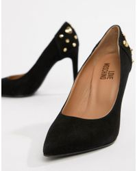 Love Moschino - Pointed Heeled Shoes - Lyst