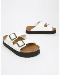 Birkenstock - Papillio By Arizona Flat Sandals - Lyst