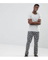 Esprit - Pyjama Set With Camo Jersey Pant - Lyst