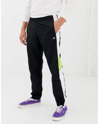 5954a9a2 Champion Reverse Weave Joggers With Small Logo Grey in Gray for Men ...