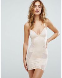 New Look - Solutions Shaping Slip Dress - Lyst
