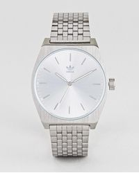adidas - Z02 Process Bracelet Watch In Silver - Lyst