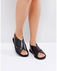 Warehouse - Crossover Sandal - Lyst