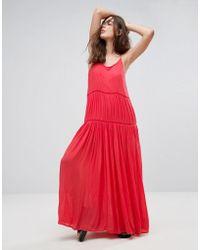 Pepe Jeans - Lala Essentials Maxi Dress - Lyst