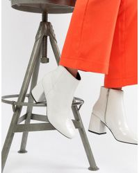 ASOS - Rural Patent Ankle Boots - Lyst
