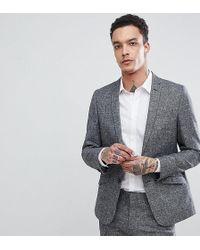 Heart & Dagger - Slim Suit Jacket In Linen Texture - Lyst