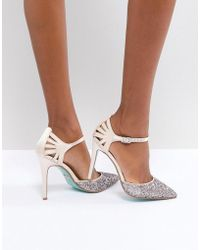 Betsey Johnson - Blue By Betsy Johnson Blush Avery Heeled Wedding Shoes - Lyst