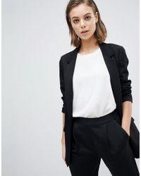 AllSaints - Soft Tailored Blazer - Lyst
