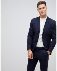 SELECTED - Suit Jacket With Stretch In Slim Fit - Lyst