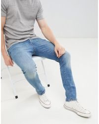 Jack & Jones - Intelligence Tim Slim Fit Jeans - Lyst