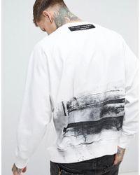 Religion - Oversized Sweatshirt With Back Print - Lyst