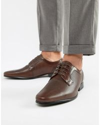Red Tape - Harston Lace Up Shoes In Brown - Lyst