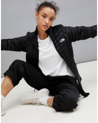 The North Face - Women's Thermoball Zip In Jacket In Black - Lyst