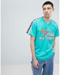 Mitchell & Ness - Nba All Stars Mesh T-shirt In Green - Lyst