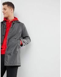 Mango - Man Water-repellent Trench Coat In Dark Gray - Lyst
