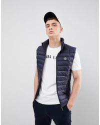 Henri Lloyd - Cabus Light Weight Down Gilet In Navy - Lyst