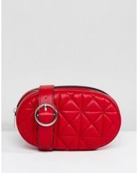 Stradivarius - Quilted Bum Bag - Lyst