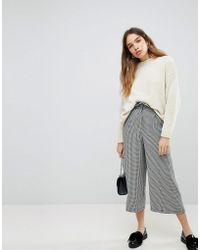 Pull&Bear - Dog Tooth Trouser - Lyst