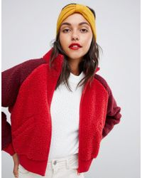 Pieces - Knot Wool Headband - Lyst