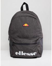 Ellesse - Rivia Backpack In Grey - Lyst